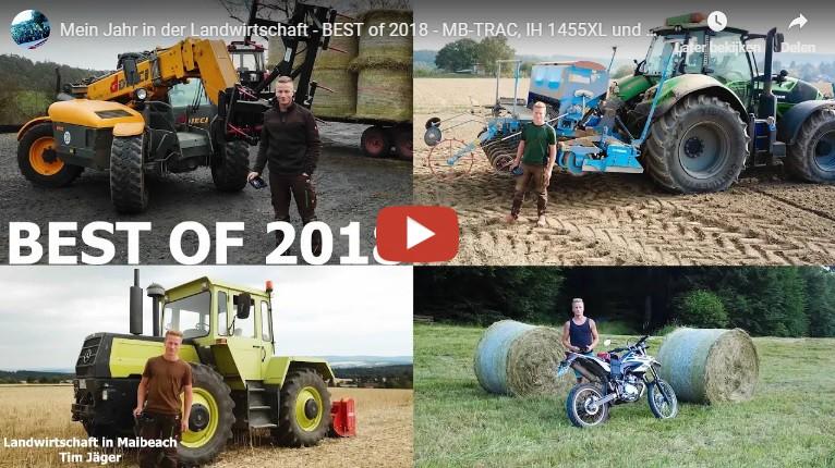 Mein Jahr in der Landwirtschaft - BEST of 2018 - MB-TRAC ...